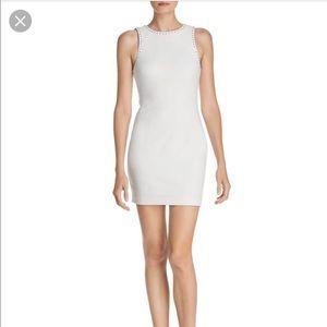 Likely white studded dress sz 8